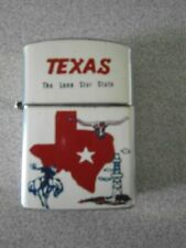 VINTAGE TEXAS THE LONE STAR STATE JAPAN CIGARETTE LIGTHER
