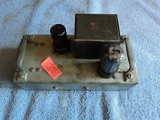 MILITARY TANK TUBE AMPLIFIER WITH OUTPUT OR INTERSTAGE SE TRANSFORMER? C-12A-29