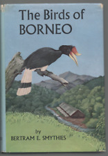 BETRAM E SMYTHIES THE BIRDS OF BORNEO SECOND EDITION HB DJ 1968 + BORNEO MAP
