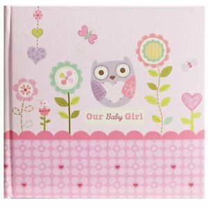 Stepping Stones Recordable Photo Album Our Baby Girl Pink Holds 10 Photos