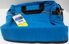 Biaggi ZipSak Flippable Tech Bag, Turquoise Blue/Black Style 631103
