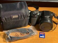 Nikon COOLPIX L100 10.0MP Digital Camera - Black + SD Card