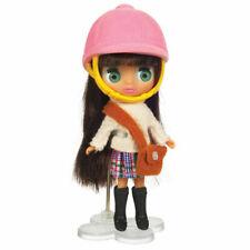 Blythe Doll Playfully Pink Plaid Littlest Pet Shop & Horse