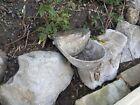 Vintage really weatherd Water   Animal Feeder   Trough    Garden Planter