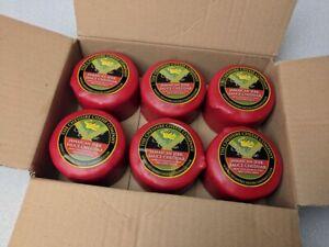 6 x Jamaican Jerk Sauce Spicy Cheddar 200g Wax Truckles Multi Buy