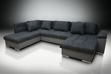 DOUBLE CHAISE CORNER SOFA BED ERIC RH, LARGE  BEDDING PLACE,SILICONE CUSHIONS!