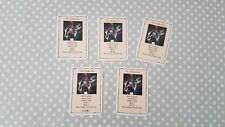 Heroquest Wizards of Morcar Men at Arms The Halberdier Card Set - All 5 Cards
