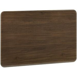 """48"""" Faux Wood Folding Table, Walnut, Easy to clean, lightweight design."""