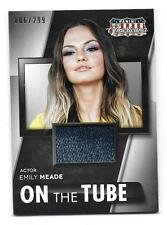 EMILY MEADE 2015 Panini Americana On the Tube Materials #MM-EM  6/299