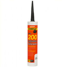 Everbuild Low Modulus LMA Silicone UPVC Sealant - Black - 10 x 300ml C3 Tubes