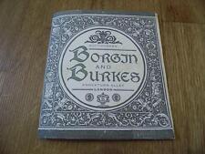 Harry Potter Borgin & Burkes Auction Catalogue & Small Hogwarts Express Ticket