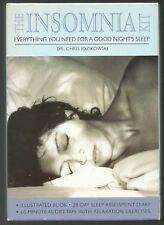 INSOMNIA KIT/MINT BOOK & DIARY & STILL SEALED AUDIO TAPE/SLEEP/PSYCHOLOGY/HEALTH