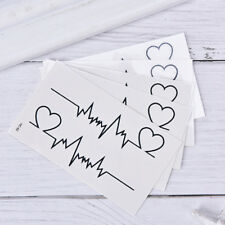 heart tattoo temporary ECG products waterproof disposable tattoo'sticker LPEP