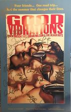 GOOD VIBRATIONS Cast Signed Broadway Poster RARE