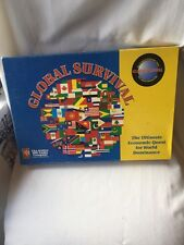 2275) Avalon Hill Boardgame Global Survival (2nd Edition) COMPLETE