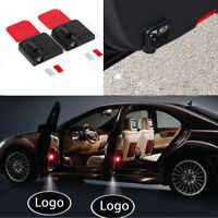 2PCS For Vauxhall Wireless Courtesy Car door Welcome Logo Light Shadow Projector