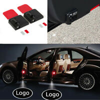 2PCS Wireless Courtesy Car door Welcome Logo Light Shadow Projector for Audi