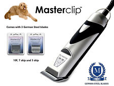 Goldendoodle DOG Clippers Trimmer Set con 3 lame da Masterclip Professional