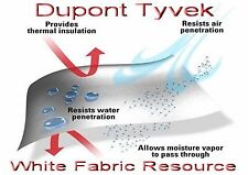 8X5 ft Tyvek DuPont Homewrap Ground Sheet Tarp Tent Footprint Sleeping Bag Liner