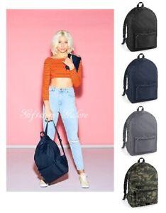 Bagbase Packaway Backpack Mens Womens Fashion Rucksack Small Shoulder Bag