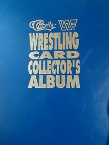 1990 classic wwf cards 1-150 card lot + album