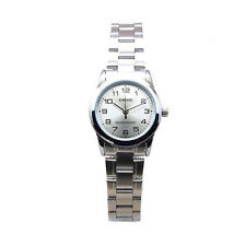 Casio Women's Analog Quartz Water Resistant Stainless Steel Watch LTPV001D-7B