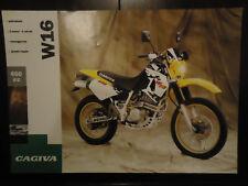 Cagiva Prospekt W16 600 Prospetto Brochure