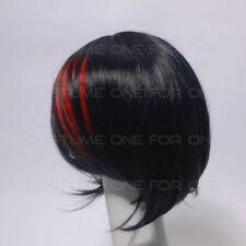 Perruques et toupets franges noires sans marque pour femme