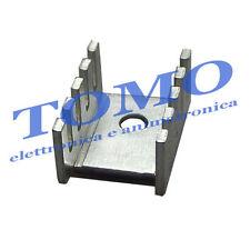 Radiatore di raffreddamento transistor TO220 dissipatore code D02