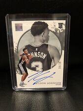 2019 Impeccable Basketball Keldon Johnson Rookie Autograph /25