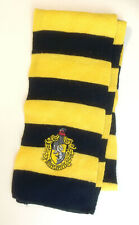 Hufflepuff Knit Scarf (Harry Potter) Yellow and Black --100% profit to charity
