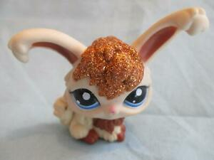 Littlest Pet Shop Glitter Sparkle Bunny Rabbit Angora 2480 Lps