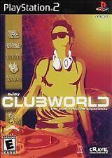 eJay Clubworld (Sony PlayStation 2, 2003) NEW