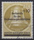 Berlin 155 O Hochwasserhilfe, Postmarked