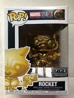 Funko Pop - Guardians of the Galaxy - ROCKET!  FYE Exclusive! Pop#420