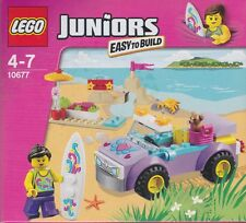 LEGO JUNIORS easy to built  10677 BEACH TRIP   New Nib Sealed