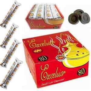 80 Disc Excelsior Swift - Lite Charcoal,Tablets Hookah Bukhoor burner sheesha