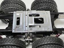 Custom made Aluminum Fifth wheel coupling Mounting Plate Tamiya RC 1/14 Cascadia