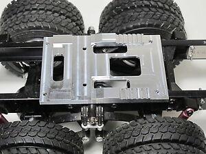Su Misura Fatto Alluminio Fifth Ruota Accoppiamento Montaggio Piastra Tamiya RC
