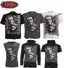 Skull Graphic Loose Fit T-Shirts for Men