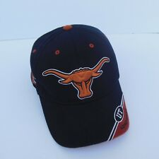 TX Longhorn Cap Black Burnt Orange  College Football