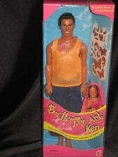 1998 Barbie Handsome KEN BUTTERFLY ART Tattoo Collection  #22995 NRFB
