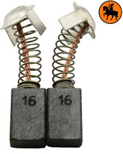 Carbon Brushes for Hitachi Polisher SAT-182 - 0.28x0.43x0.67''