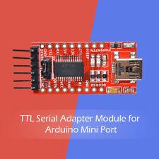 FTDI USB to TTL Serial Adapter Module for Arduino Mini Port FT232RL DC 3.3V 5V