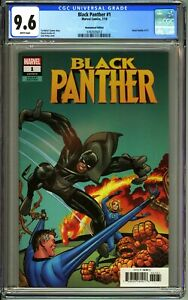 BLACK PANTHER #1 - CGC 9.6 - NM+  JACK KIRBY REMASTERED COLOR 1:500 VARIANT