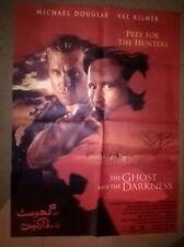 THE GHOST AND THE DARKNESS - ORIGINAL  ASIAN   CINEMA POSTER .