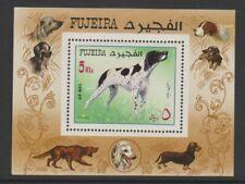 Fujeira - 1970, Dogs sheet - MNH
