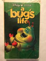 DISNEY PIXAR, A BUGS LIFE, VHS, CLAM SHELL