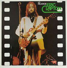 Eric Clapton Lo Mejor de Eric Clapton LP España Reedición 1986