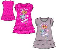 New girls licensed Paw Patrol summer tunic dress cotton short sleeves bnwt